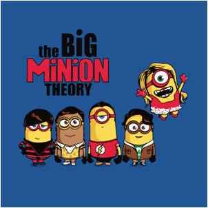 Big Bang Theory Minion Pillow