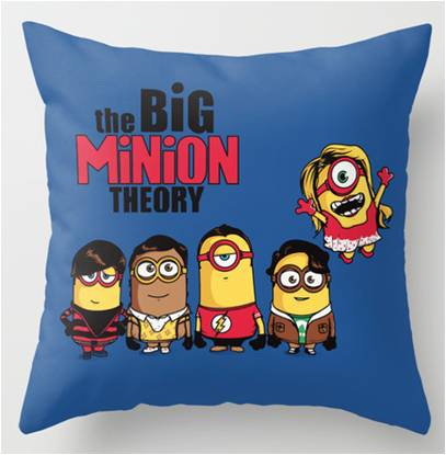 Minion Big Bang Theory Pillow