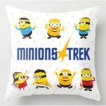 Minion Star Trek Designer Throw Pillow
