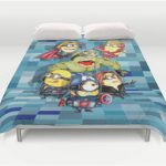 Queen Despicable Me Minions Duvet Cover