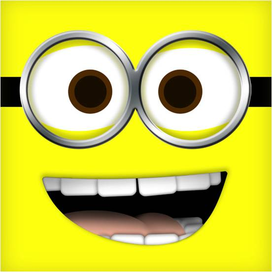 photograph about Printable Minions Eyes known as Yellow Despicable Me Minion Jerry Toss Pillow - Despicable