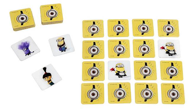 Despicable Me Minions Memory Game