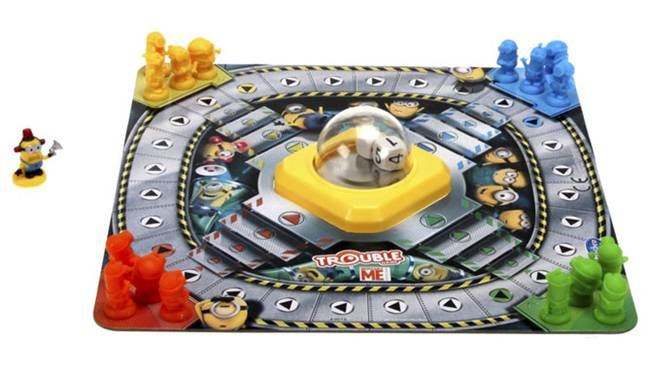 Despicable Me Minions Trouble Board Game