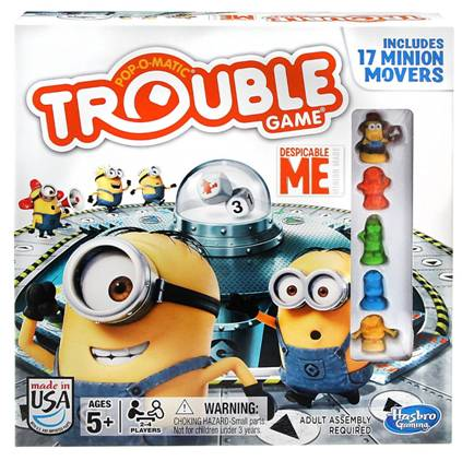 Despicable Me Trouble Board Game