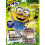 Minions Crayola Color Alive Coloring Pages