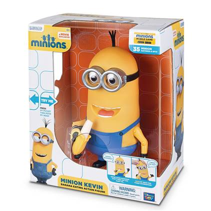 banana kevin minion toy