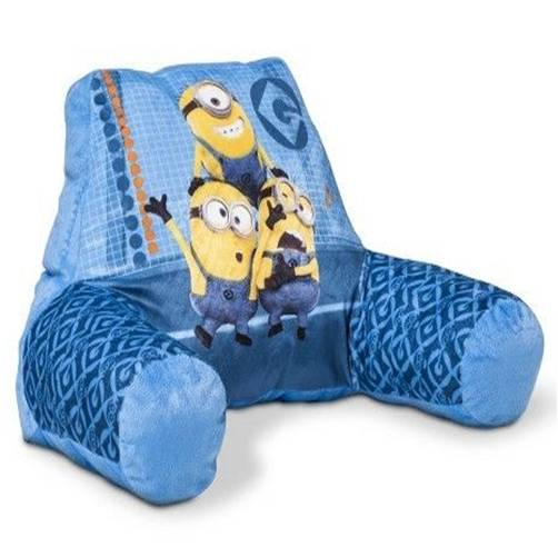 Despicable Me Minions Bed Reading Pillow With Arms