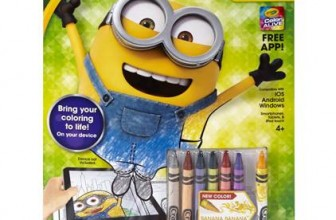 cool crayola color alive minions edition coloring book