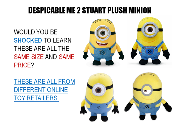 Minion Stuart Plush Toy