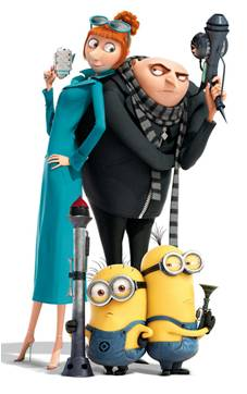 Despicable Me 2 Mini Figures