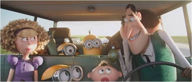 Minions Nelson Family Station Wagon