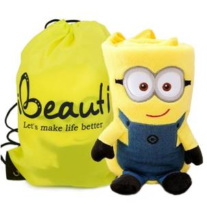 Minion Yellow Throw Blanket Tote